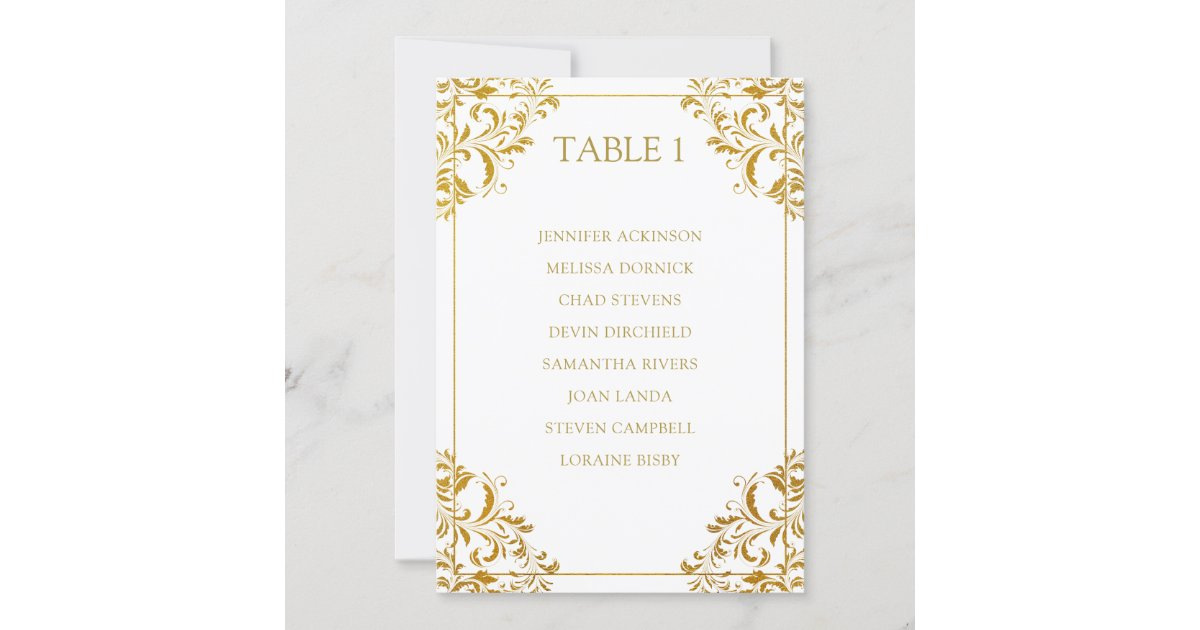 Gold seating chart Seating cards wedding Seating chart cards Hanging seating cards template with gold foil effect