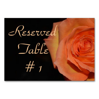 Elegant Wedding Shower Flowers Rose Destiny Peace Card