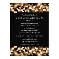 Elegant Wedding Vow Renewal Gold Hollywood Glam Card (<em>$2.15</em>)