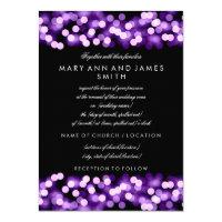 Elegant Wedding Vow Renewal Purple Hollywood Glam 4.5x6.25 Paper Invitation Card (<em>$2.15</em>)