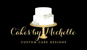 Wedding cake artist business cards templates zazzle elegant white cake with florals ii cake decorating business card reheart Choice Image