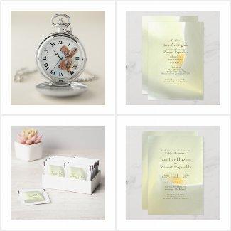 Elegant White Calla Wedding Collection