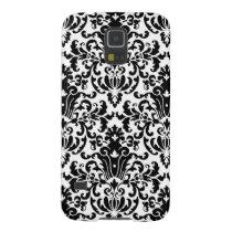 Elegant White Damask Customizable Case For Galaxy S5
