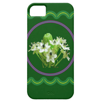 Elegant white flower floral  graphic on 100 gifts iPhone SE/5/5s case