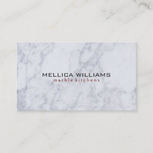 Marble background business cards zazzle elegant white marble stone background business card colourmoves