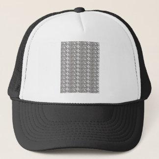 Elegant WHITE n SILVER Flowers NVN167 NavinJOSHI Trucker Hat