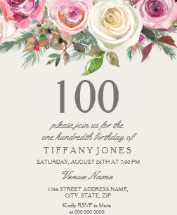 60 off 105th birthday invitations shop now to save zazzle
