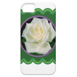 Elegant white rose flower floral graphic 100 gifts iPhone SE/5/5s case