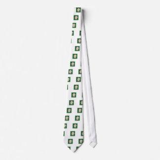 Elegant white rose flower floral photo on 100 gift tie