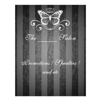 Elegant White Royal Butterfly Full Color Flyer