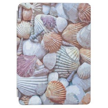 Elegant White Seashells Artwork   iPad Air Case