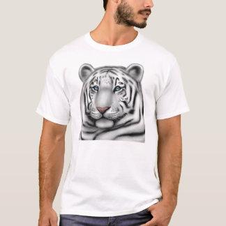 Elegant White Tiger T-Shirt
