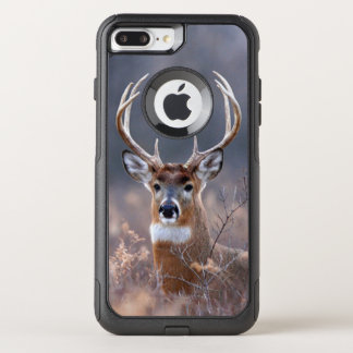 Elegant Whitetail Deer Autumn Or Winter Season OtterBox Commuter iPhone 8 Plus/7 Plus Case