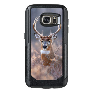Elegant Whitetail Deer Autumn Or Winter Season OtterBox Samsung Galaxy S7 Case