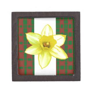 Elegant Wild Exotic Cactus Flower on Shirts  GiftS Premium Keepsake Box