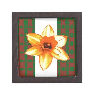 Elegant Wild Exotic Cactus Flower on Shirts  GiftS Premium Keepsake Boxes