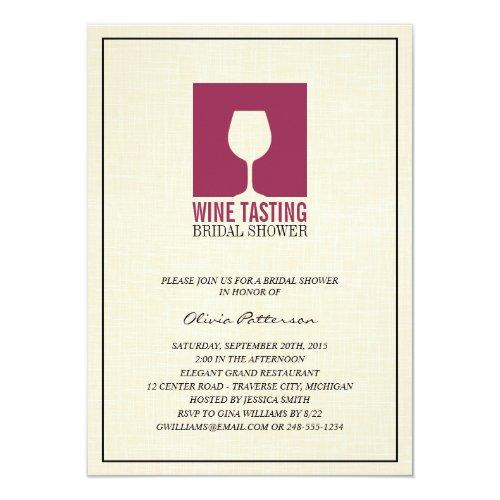 Wine themed bridal shower invitations webnuggetz wine tasting bridal shower invitations 45 filmwisefo
