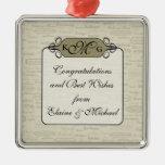 Elegant Wine Varietal Gift Charm Christmas Ornament