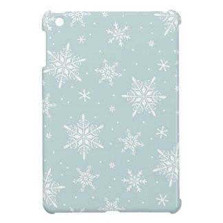 Elegant Winter Snowflake Mini ipod cover Case For The iPad Mini