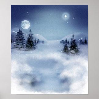 Elegant Winter View Poster
