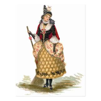 Elegant Witch Postcard