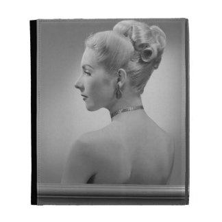 Elegant Woman iPad Case