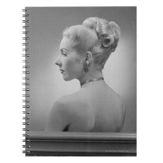 Elegant Woman Note Books