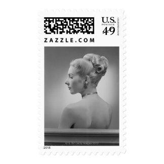 Elegant Woman Stamps