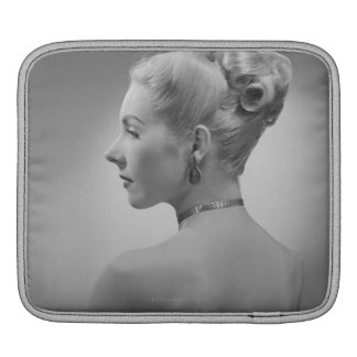 Elegant Woman Sleeve For iPads