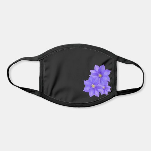 Elegant Women's - Purple Clematis All Over Print Face Mask