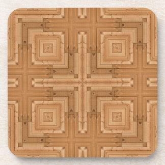 Elegant Wood Designed Beverage Coaster