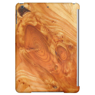 Elegant wood finish iPad case- Any iPad case