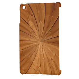 Elegant wood finished iPad mini case