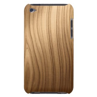 Elegant Wooden Style iPod Touch Case