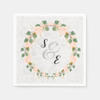 Elegant Wreath for all occassions Napkin