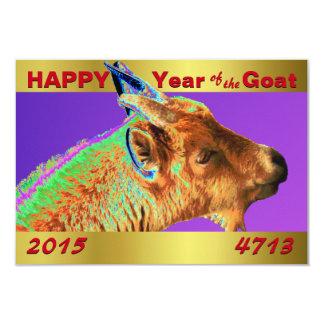 Elegant Year of the Goat 2015 Card