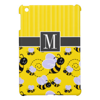 Elegant Yellow & Black Bee Case For The iPad Mini