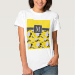 Elegant Yellow & Black Bee T-Shirt