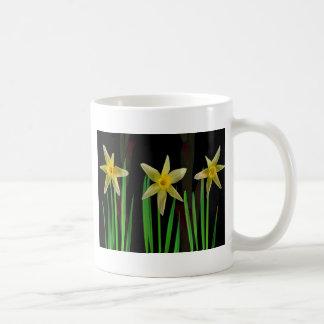 Elegant Yellow Flower Floral Bouquet Gifts Romance Coffee Mug
