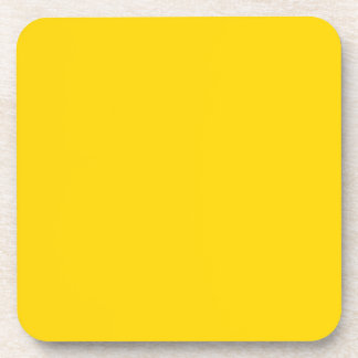Elegant Yellow Gold - Fashion Color Trends Drink Coaster