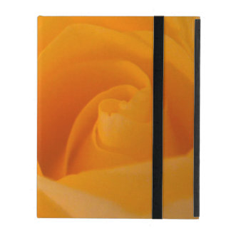 Elegant Yellow Rose Bud iPad Folio Case