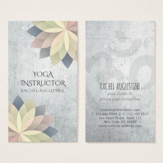 Yoga Instructor Business Cards & Templates | Zazzle