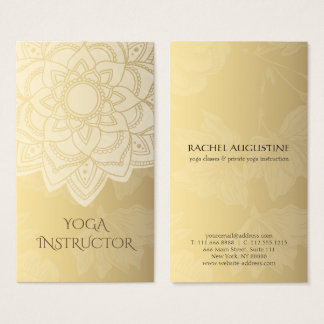 Yoga Studio Business Cards Templates Zazzle