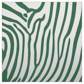 Elegant Zebra Print Fabric