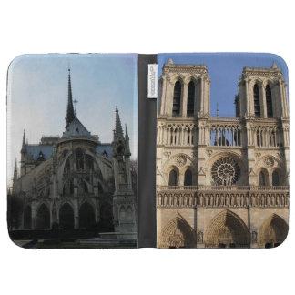 Elegante encienda la caja con Notre Dame de Paris
