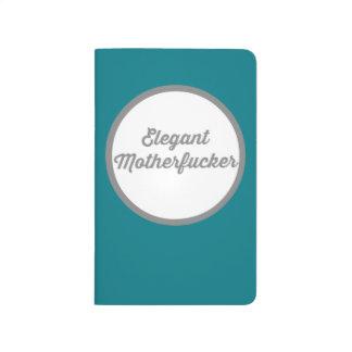 Elegante estupendo cuadernos grapados