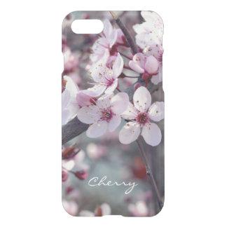 Elegante floral de la naturaleza de Sakura de la Funda Para iPhone 7