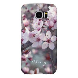 Elegante floral de la naturaleza de Sakura de la Funda Samsung Galaxy S6