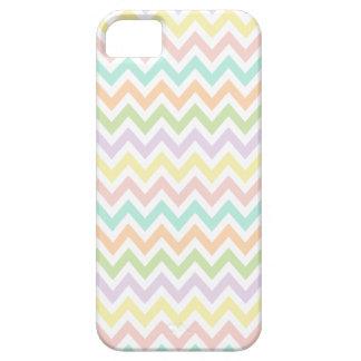 Elegante geometría de chevrón en multicolor iPhone 5 fundas