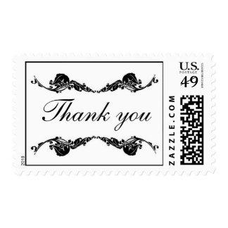 Elegante gracias sello